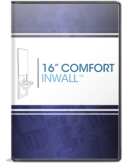 16in comfort inwall installation video