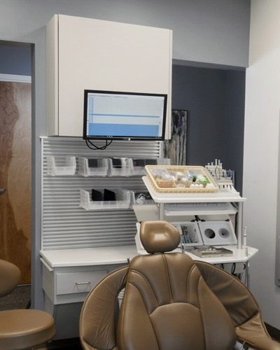 inwall, storage, wall, treatment room, operatory, cabinetry, dental storage, dental cabinetry